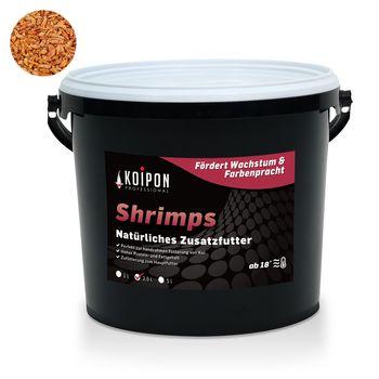 Koifutter Shrimps & Garnelen KOIPON Zusatzfutter