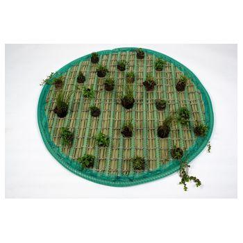 Pflanzinsel-Set 120cm rund inkl. 25 Planzen