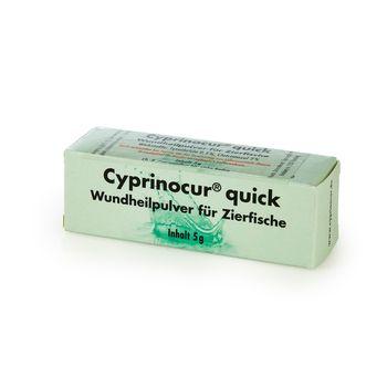Cyprinocur Quick Heilpulver 5g für verletzte Koi