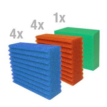 Ersatzschwamm Set komplett Biotec 10.1 Biosmart 24000/36000