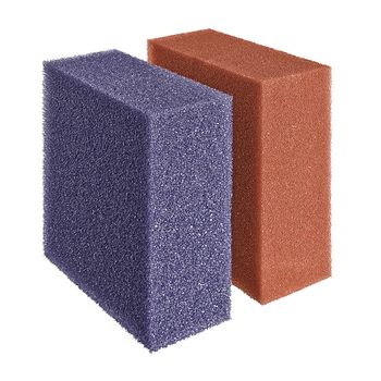 Ersatzschwamm Set rot/violett BioTec 12 / 40000 / 90000