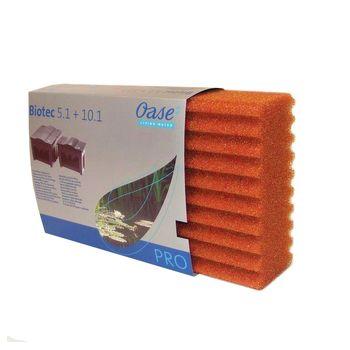 Ersatzschwamm rot BioSmart 18000-36000/Biotec 5.1-10.1