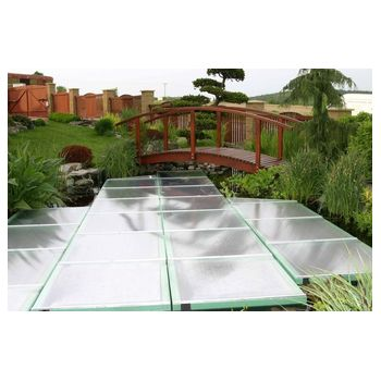 Floating pond cover 1x1m, 7cm high, piece ¤ 150,00