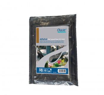 PVC Teichfolie 0,5mm / 6x6m - Oase AlfaFol schwarz