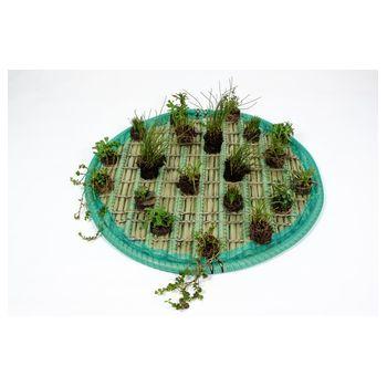 Pflanzinsel-Set 80cm rund inkl. 20 Pflanzen