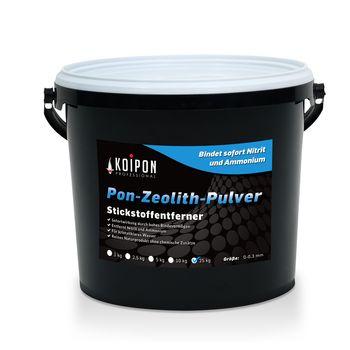 Zeolith-Pulver - Schadstoffbinder Teich