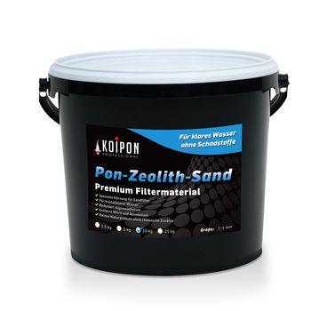 Zeolith-Sand - Schadstoffbinder Teich