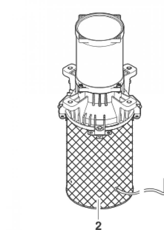 BG Motorsektion AirFlo 1,5 kW / 230 V