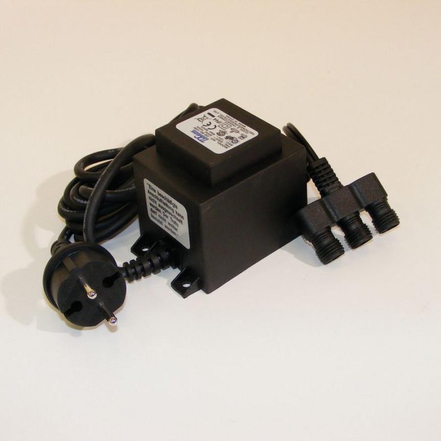 Trafo 60VA 2 m H05RN-F 2 x 0,75 mm²