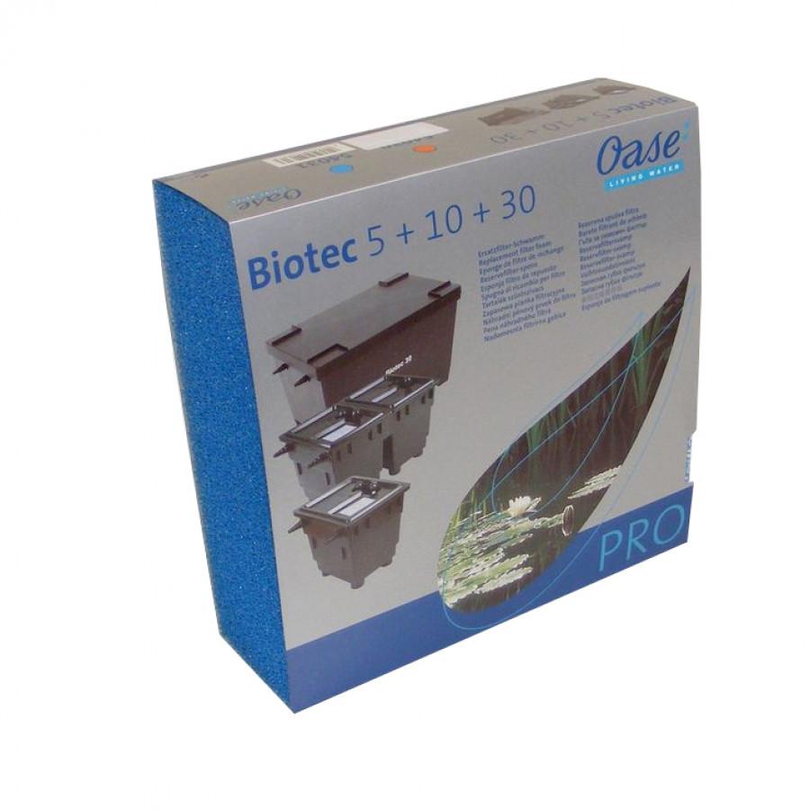 Ersatzschwamm blau BioTec 5 / 10 / 30