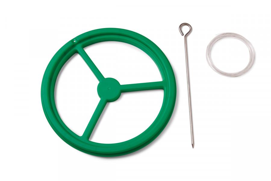 Koi & fish plastic feed ring