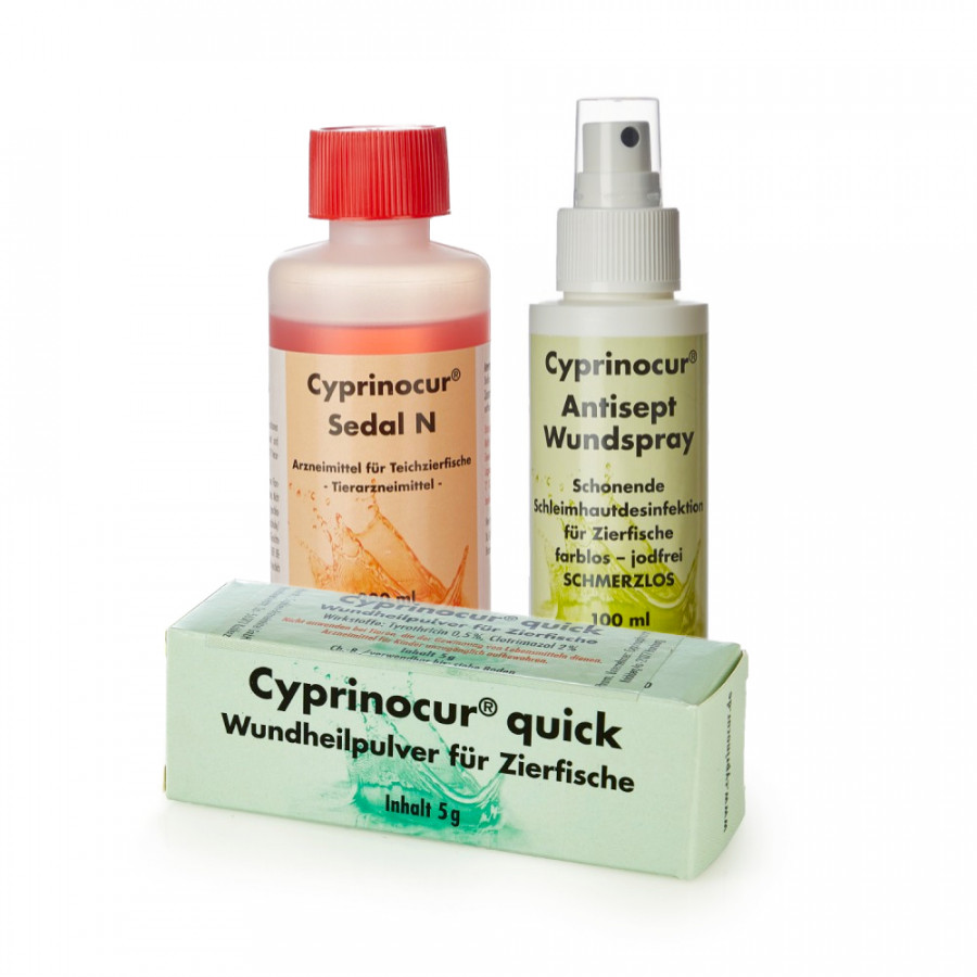 Cyprinocur Wundbehandlung Starterset