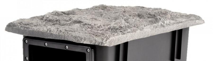 Dekordeckel BioSys Skimmer granit