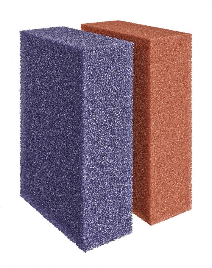 Ersatzschwamm Set rot/violett BioTec 18 / 36 / 60000 / 140000