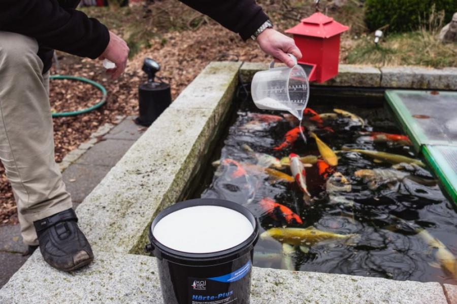 Härte-Plus - Karbonathärte Teich erhöhen