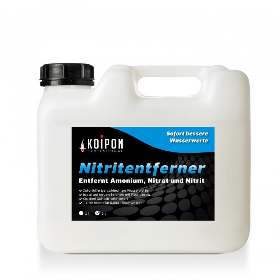 KOIPON Nitritentferner - Sofort bessere Wasserwerte