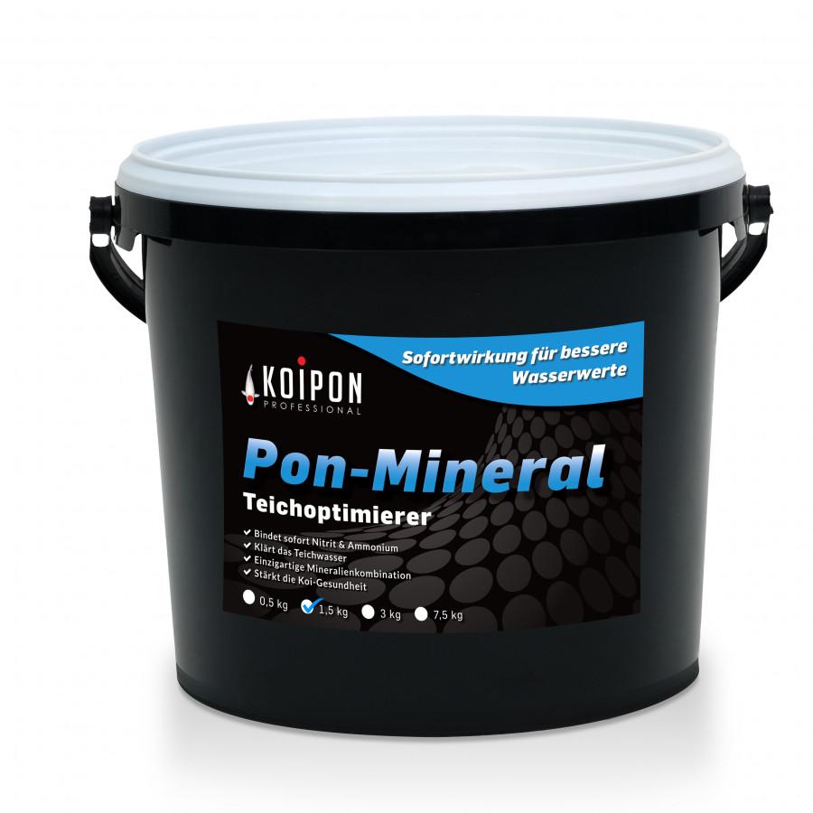 KOIPON Pon-Mineral Teichoptmierer - Zur Bindung von Schadstoffen im Teich