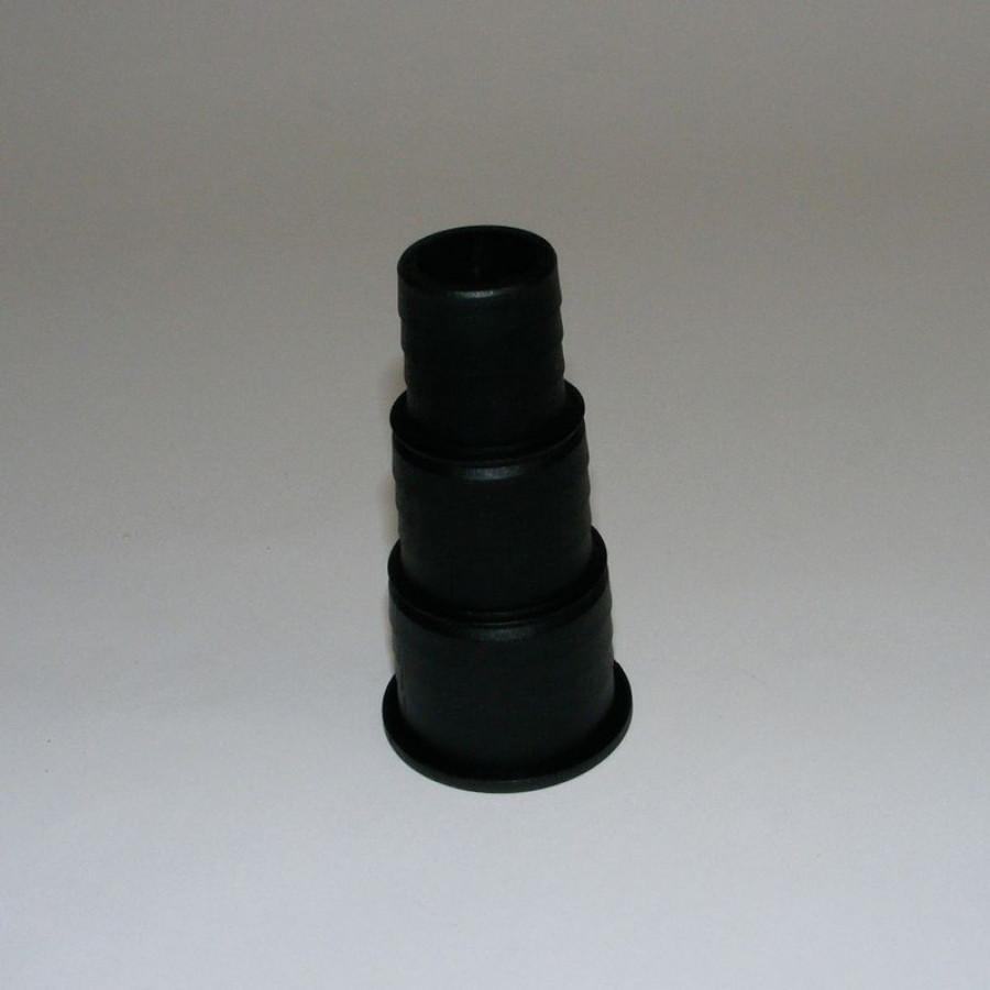 Stufenschlauchtülle 1 1/2 schwarz