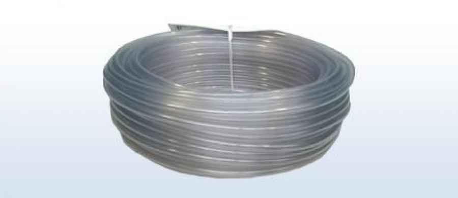 Transparenter Luftschlauch 4x6 mm, 25 m
