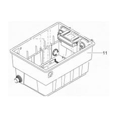 Behälter BioTec ScreenM. 40000 gestanzt
