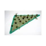 Floating Plant Islands Set triangle 120 x 120 x 160cm incl. 20 plants