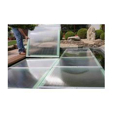 Schwimmende Teichabdeckung 1x1m, 7cm hoch, Stück ¤ 150,00  Bild 3
