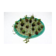 Pflanzeninsel-Set 80cm rund inkl. 20 Pflanzen