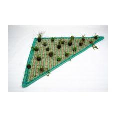 Pflanzeninsel-Set Dreieck 120 x 120 x 160cm inkl. 20 Pflanzen