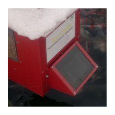 Solarzellenplatte 6 Volt Rot