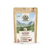 Wildes Land - Dog wet food - BIO beef with potatoes 10x125g (grain free)