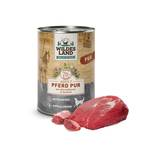 Wildes Land - Dog wet food - Horse PUR with safflower oil (cereal and gluten free)