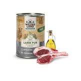 Wildes Land - Dog wet food - Lamb PUR with safflower oil (cereal-free and gluten-free)