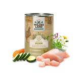 Wildes land - Dog wet food - Chicken with carrots, courgettes, wild herbs and safflower oil (cereal-free)