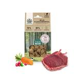 Wildes land - Snacks - Meat cubes game with carrot and cranberries 100g (grain free)