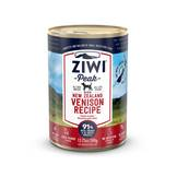 Ziwipeak - Wet Food - Canned Dog Food Venison 12x390g (grain-free)
